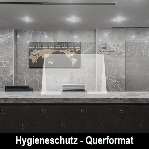 Hygieneschutz - Querformat